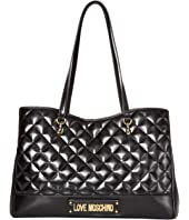 LOVE Moschino - Shinny Quilted Bag