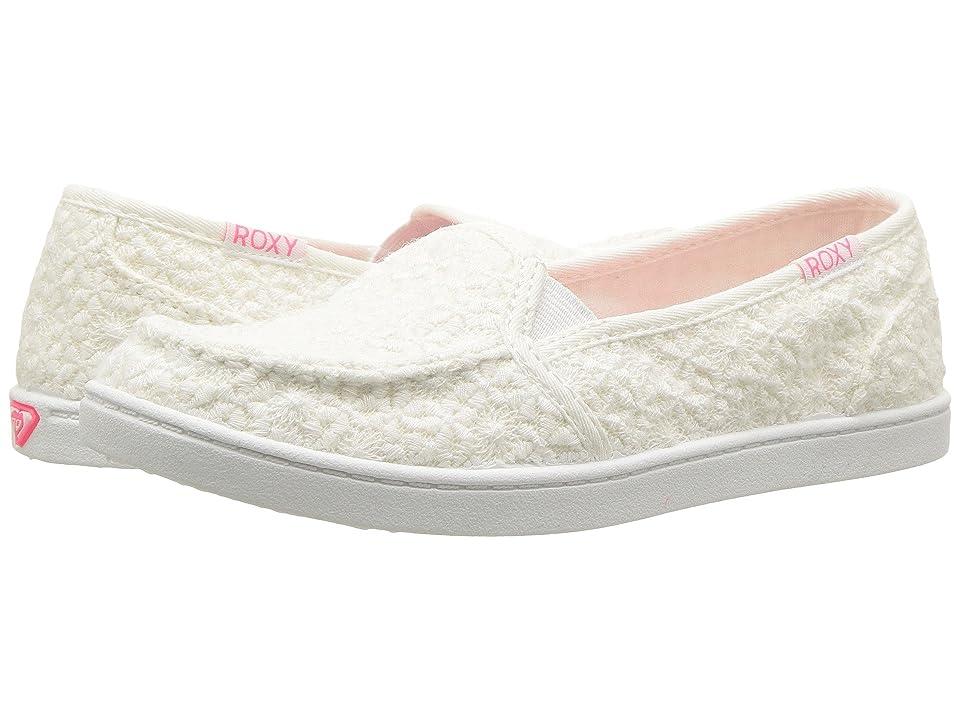 Roxy Kids RG Lido IV (Little Kid/Big Kid) (White) Girls Shoes