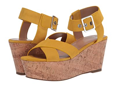 Marc Fisher LTD Cacie (Yellow Suede) Women