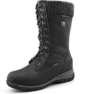 Best womens black warm boots Reviews