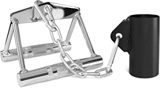 A2ZCARE Deluxe T-Bar Row Platform - Full 360° Swivel for Easy Use in Small Spaces – Fits 1-inch Standard & 2-inch Olympic Bars