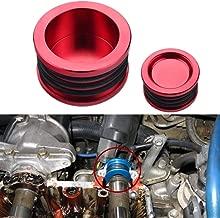 Dewhel B16 B18 B20 H22 H23 F20 Engine For HONDA Acura B-SERIES H-SERIES BILLET Triple O ring CAM CAMSHAFT SEAL PLUG Color Red