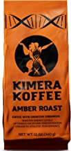 Kimera Koffee Amber Roast - Organic Ground Coffee Infused with Essential Brain Vitamins (12oz), Rich, Organic Coffee Beans with Cognitive Enhancers to Boost Energy Levels, Brain Function, Memory, Focus, and Athletic Performance