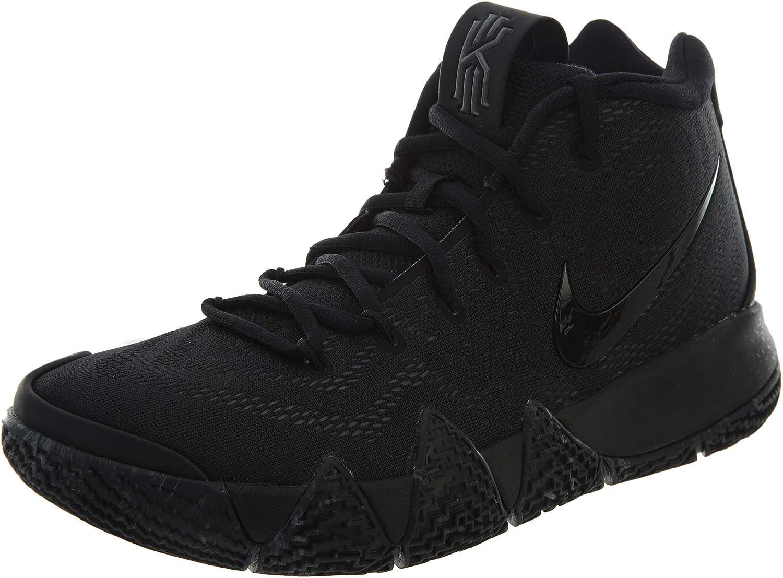 Nike Men's Kyrie 4 Basketball shoes (10.5, Black Black)