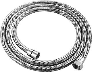 Ciencia Tuyau flexible de rechange universel pour douche en acier inoxydable tuyau de douche G 1//2 2meters Or