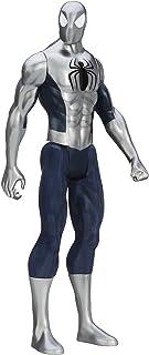 Marvel Ultimate Spider-Man Titan Hero Series Armored Spider-Man Figure - 12 Inch