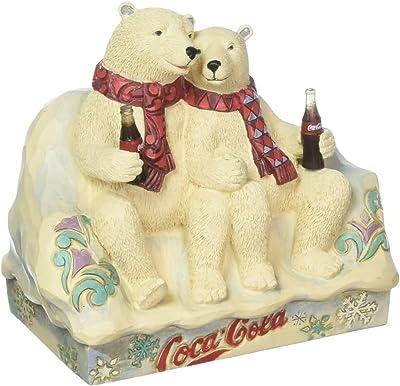 Coca-Cola Figurine, 4059475, White, Standard