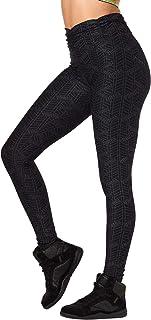 Zumba Women's High Waisted Leggings Dance Compression Butt Lift Workout Pants