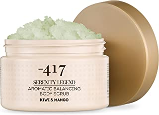 -417 Dead Sea Cosmetics Kiwi & Mango Aromatic Hygiene Hands and Body Peeling - Nourishing and Exfoliating Scrub for Smooth Soft & Rejuvenate Skin - All Natural 15.8 oz Serenity Legend Collection