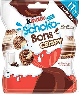 Kinder Schokobons Crispy, 16 x 89 gm