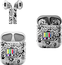 Skin Decals for Apple AirPods - TV Kills Everything - Sticker Wrap Fits 1st and 2nd Generation