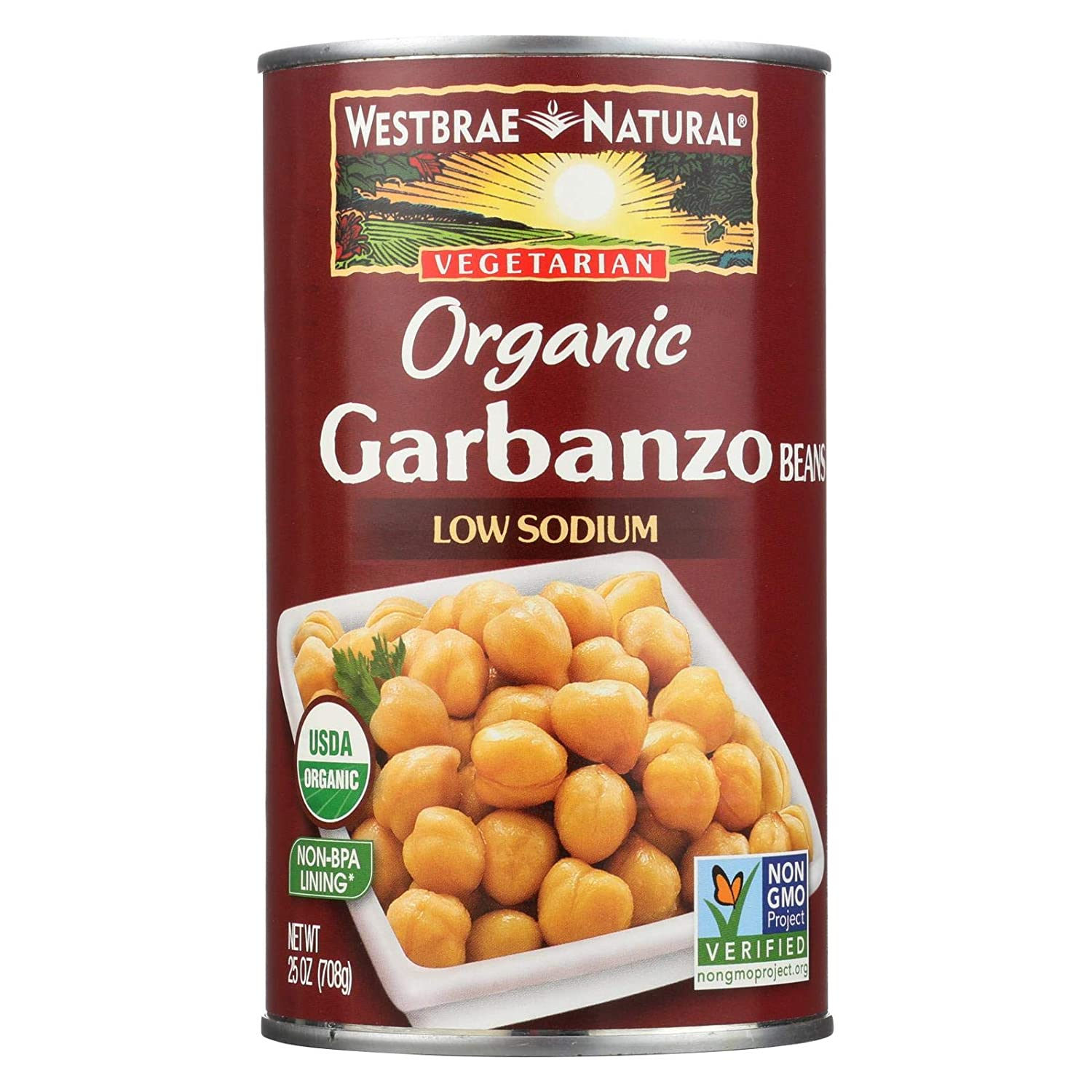 Organic Garbanzo Beans 25 of Minneapolis Mall 12 Case Quality inspection Ounces