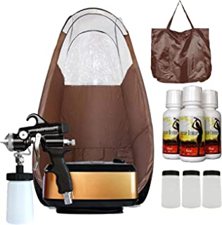 MaxiMist Allure Xena Pro Sunless Spray Tanning System w Tent (Brown)