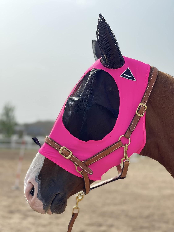 Charlotte Mall Horse Fly Mask Phoenix Mall Elasticity Comfort Super