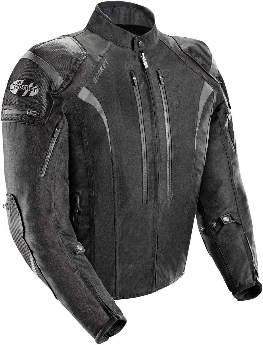 Joe Rocket Men's Atomic 5.0 Jacket (Black, Tall Large)