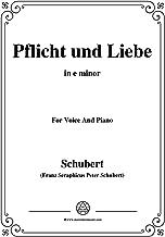Schubert-Der Morgenkuss(nach einem Ball),in E Major,D.264,for Voice and Piano (French Edition)