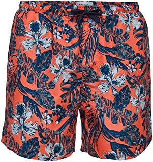 ONLY & SONS ONSTED Swim AOP2 GD 6137 - Bañador para hombre, color coral