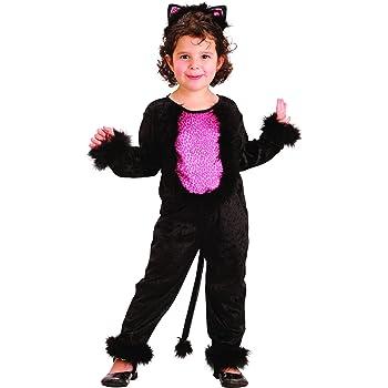 Disfraz de gata para niña: Amazon.es: Juguetes y juegos