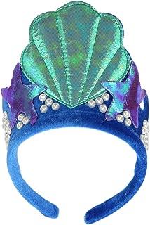 elope Mermaid Shell Costume Dress Up Headband