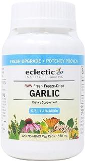 Eclectic Institute Garlic 550 Milligrams, 120 Veggie Capsules
