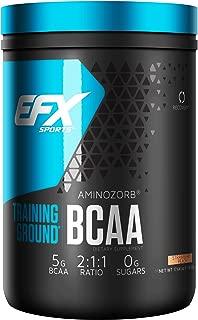 EFX Sports Training Ground BCAA Powder, Strawberry Peach, 500 Gram
