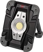 Brennenstuhl 1173080 accu LED werkschijnwerper / LED spotlight accu (buitenlamp 10 Watt, bouwlamp IP54, schijnwerper dagli...