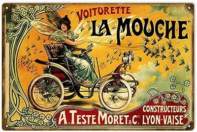 Always A Biker Garage M/étal//Acier Panneau Mural RKO Triumph x75 Hurricane Triple Moto Once A Biker 15 x 20 cm