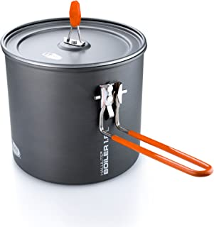 GSI Outdoors - Halulite Boiler, The Perfect Packable Pot, Superior Backcountry Cookware Since 1985