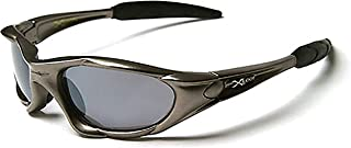 Knock around Sunglasses, Wrap Around Men's Sunglasses UV Protection Perfect for Running Skiing & Outdoor Sports