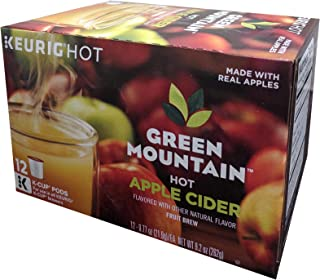 GREEN MOUNTAIN Hot Apple Cider K-Cup, 12-Count net wt 9.2 ounce