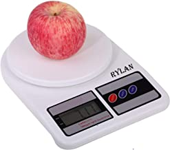 RYLAN Electronic Digital Kitchen Weighing Scale, Kitchen Scale Digital Multipurpose, Weight Machines for Kitchen, Weighing Machine, Weight Scale Kitchen, Kitchen Weighing Machine Digital(10 Kg)