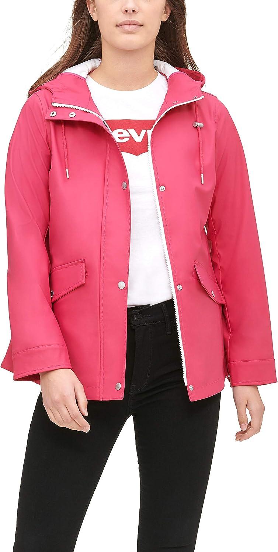 Levi's Super-cheap Women's Mid-Length Swing Rain and S service Standard Plus Jacket