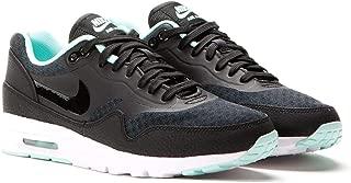 Nike Womens AIR MAX 1 Ultra, Black/Black-Artisan Teal-White, Size 11.0