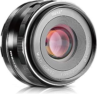 Meike 35mm f1.7 Large Aperture Manual Focus APSC Lens for Fujifilm X Mount Mirrorless Camera X-T3 X-H1 X-Pro2 X-E3 X-T1 X-...