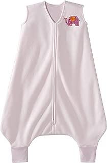 HALO Big Kids Sleepsack Micro Fleece Wearable Blanket, Pink, 2-3T