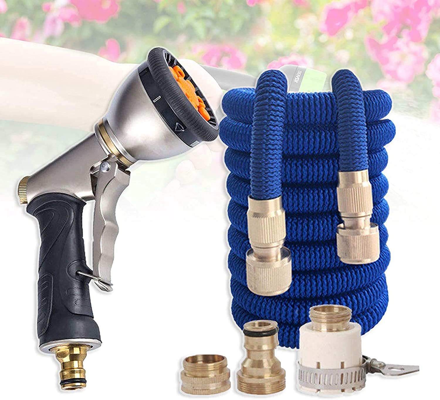 gift Lightweight Retractable Hose Weekly update Pressurized With Set Meta TelesHose