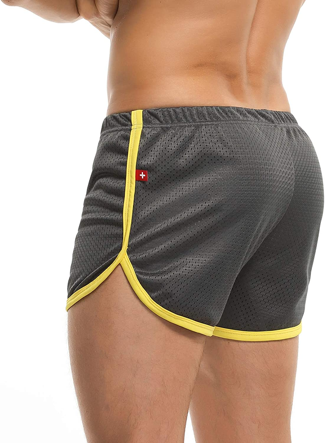 1 year warranty Men's Running Workout All items in the store Bodybuilding Gym Athletic Sports Shorts Ca