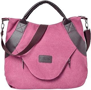FAIRYSAN Femmes Simple Style Sac /à bandouli/ère en Cuir PU Motif Croix Corps Sac Petit Sac Shopping