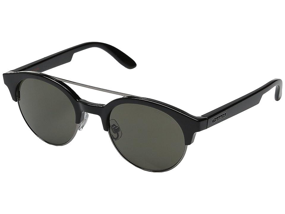 Carrera Carrera 5035/S (Black Dark Ruthenium/Brown) Fashion Sunglasses