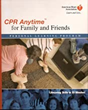 CPR Anytime for Family and Friends, Peronal Learning Program, American Heart Association