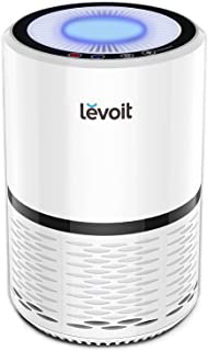 LEVOIT LV-H132 Air Purifier for Home with True HEPA Filter, Odor Allergies Eliminator for Smokers, Smoke, Dust, Mold, Pets, AirCleaner with Optional Night Light, 1Pack, White