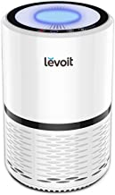 LEVOIT Air Purifier for Home Smokers Allergies and Pets Hair, True HEPA Filter, Quiet in Bedroom, Filtration System Cleaner Eliminators, Odor Smoke Dust Mold, Night Light, White, 2-Yr Warranty,LV-H132