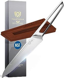 DALSTRONG Edles Kochmesser - Universalmesser mit Wellenschliff - 14 cm - Crusader Series - aus Deutschem ThyssenkKrupp Edelstahl