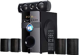 Impex 5.1 BANG 170 W Multimedia Bluetooth Speaker System (Black)