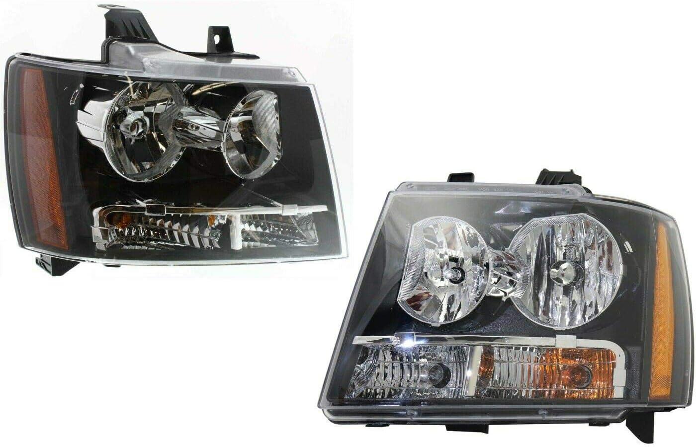 Puermto Headlight Set Compatible with Cab Pickup Left Alternative dealer Rig Crew Regular store