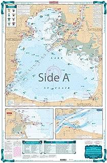 Waterproof Charts, Lake Fishing, 29F Lake St. Clair