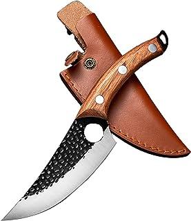 Couteau de Boucher Couteau à désosser forgé à la Main pour Couper Les Fruits et légumes Couteau de Boucher, adapté à la Cu...