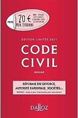 Code civil 2021 annoté. Édition limitée - 120e ed. Broché