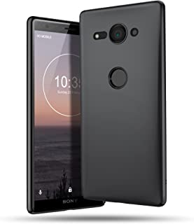 B BELK Sony Xperia XZ2 Compact Case, Ultra Slim Thin Snug-Fit Scratch Resistant Premium PC Hard Protective Cover with Matte Finish Coating for Sony Xperia XZ2 Compact (Black)