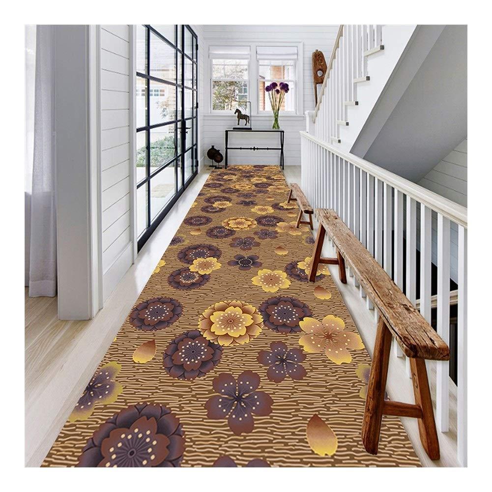 CnCnCn Tira moqueta Corredores Hogar cocina Entrada escalera pasillo Alfombras de área Alfombra del piso (Color : A, Size : 1.3x4m): Amazon.es: Hogar